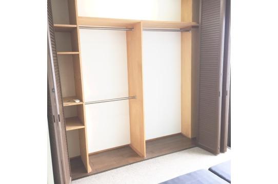 収納がハイスペックのお部屋(6号室)もございます。