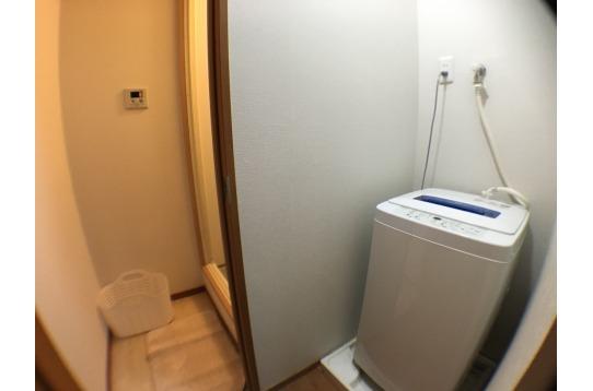 シャワー室脱衣所の様子