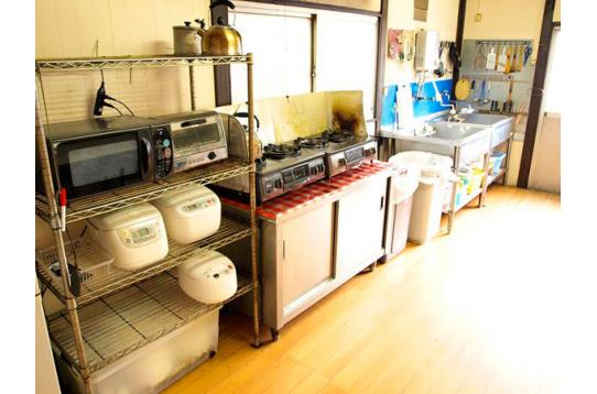 ●ゆったりキッチンスペース。