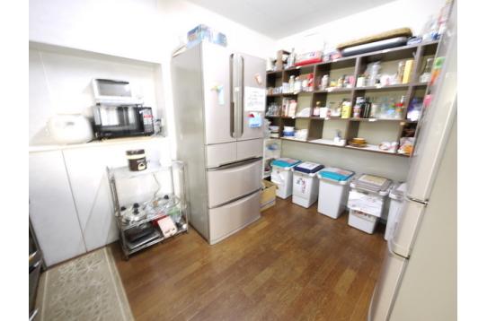 キッチン 大型冷蔵庫2台