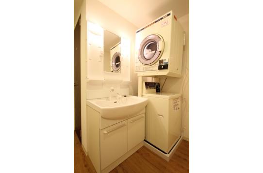 乾燥機付き洗濯機もあります。