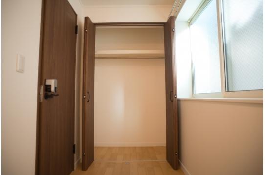 入居者の居室は全室クローゼット付き