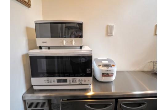 電子レンジ、オーブン、炊飯器
