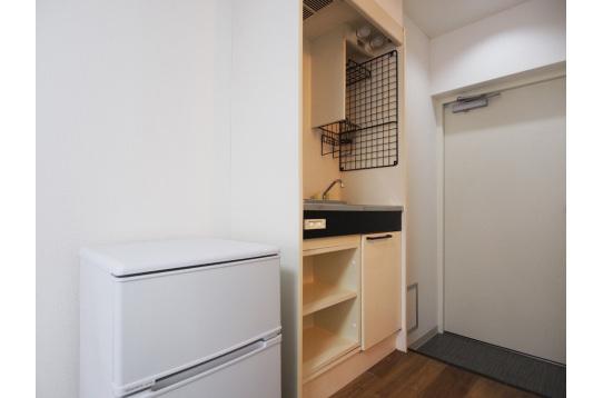 【両タイプ】個室全室に冷蔵庫完備
