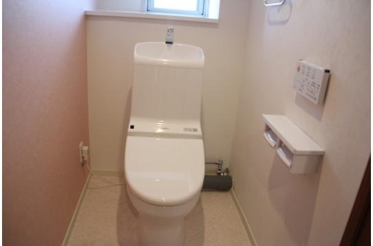 トイレも全館新品で綺麗☆