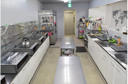 キッチンは24時間利用可。