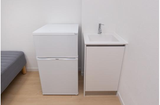なんと全部屋洗面台つきです!