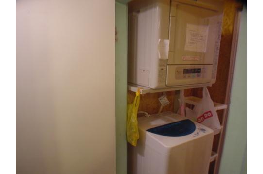 無料洗濯機、乾燥機