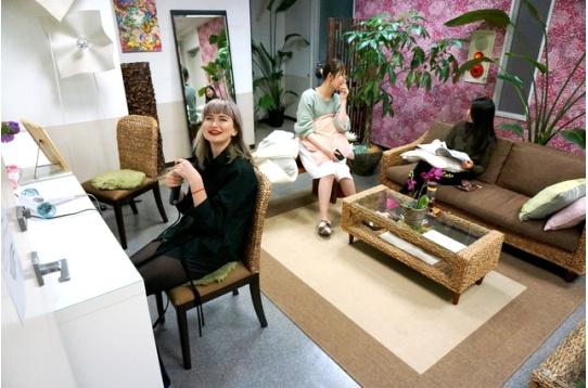 女性専用リビングルーム