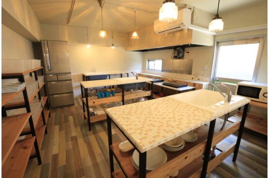 広く清潔なキッチン