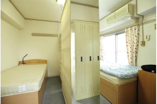 2人部屋の様子。スペースはバッチリあります!