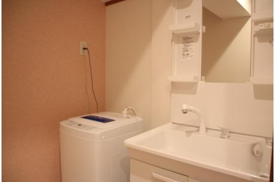 洗面所6箇所も洗濯機も6箇所で忙しくてもOK