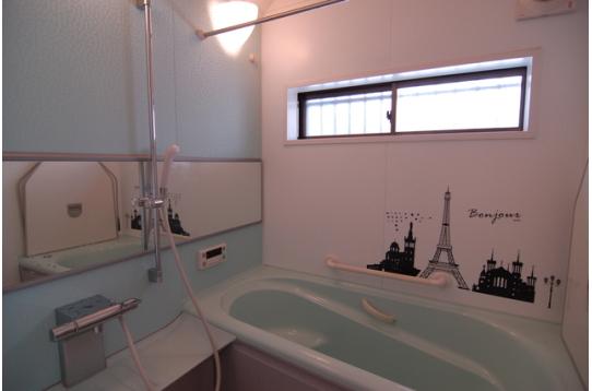 オシャレな浴室でリラックス~