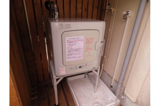 乾燥機も設置