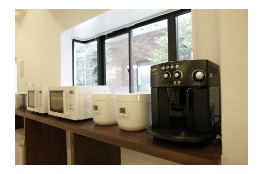 電子レンジや炊飯器、コーヒーマシン