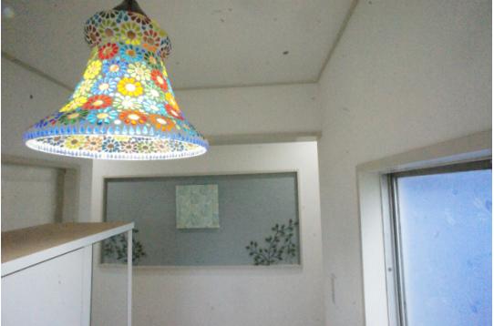 玄関の照明です