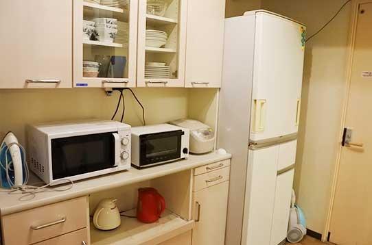 各種調理器具・家電完備です!
