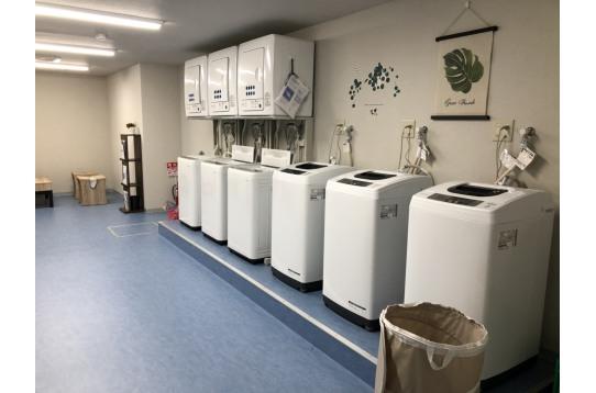 洗濯機も新しくてとっても快適!もちろん無料!