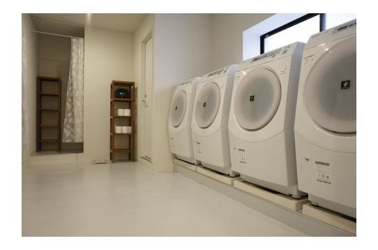 洗濯機、無料利用可能