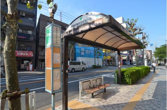 錦糸町までバスで一本で行けます