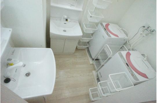 ランドリールーム 洗面所