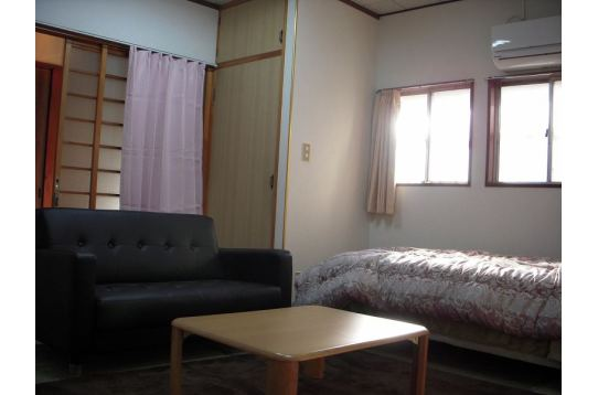 1階はキッチン付きのお部屋です。