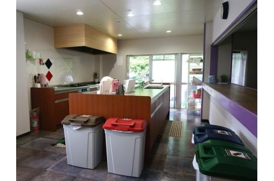 キッチンも広く、混み合っても心配無!