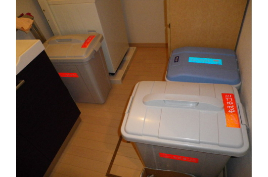☆ゴミ箱は少し多めに置いています☆