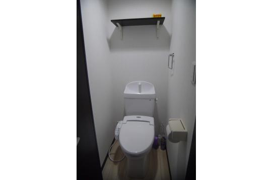 トイレはもちろんウォシュレット!!