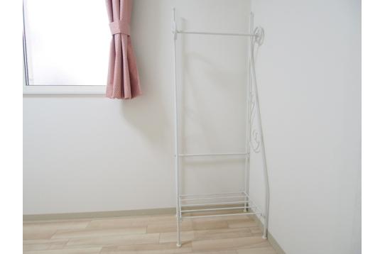 お部屋に備えつけの収納家具