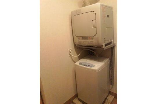 無料の洗濯機&乾燥機