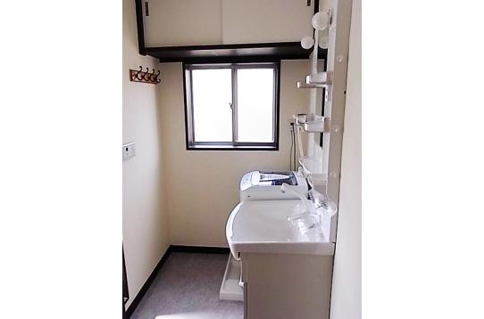 2階洗面脱衣室