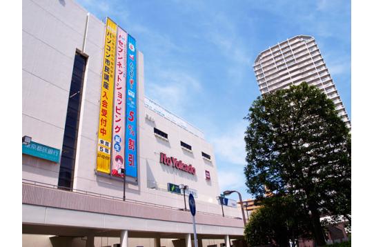 ●船橋駅界隈は、総合スーパーあり複数百貨店あり。