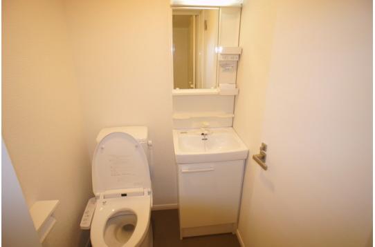 個室洗面&トイレ