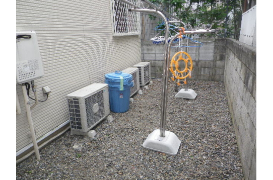 ☆洗濯物干し場☆