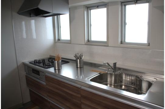 広々キッチンが館内2箇所