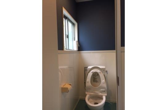 一年前にリフォームしたトイレ!!