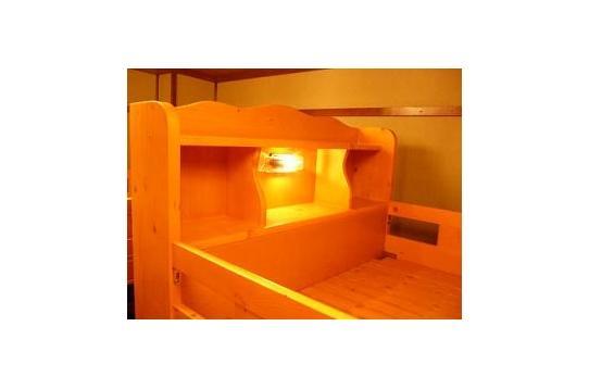 (男性部屋)ドミトリー/2段ベッド