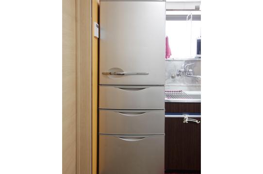冷蔵庫は400Lの超大型♪