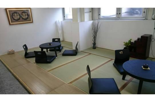 和室の共有スペースも完備!!!