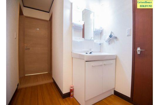 3階の共用洗面所