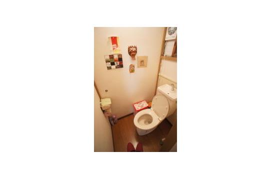トイレもアジアン。