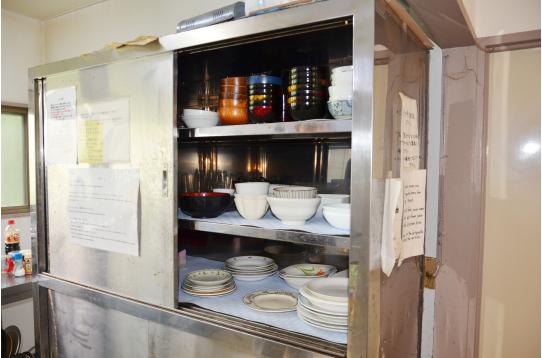 お皿も調理道具も完備!