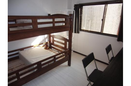 202・302・402号室 2人入居可能です