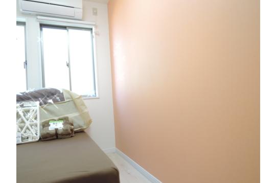 壁の色は部屋ごとに違います♪