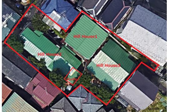 300平米以上のの敷地シェアハウス