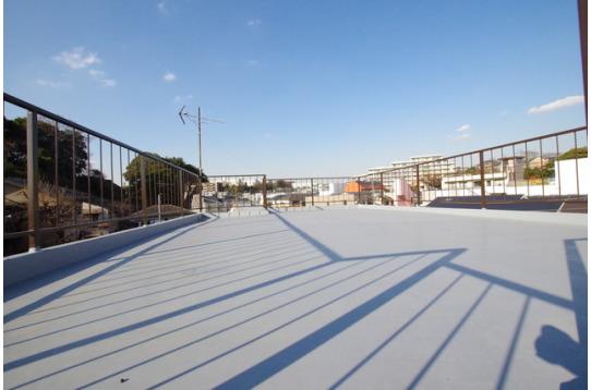 広い屋上スペース