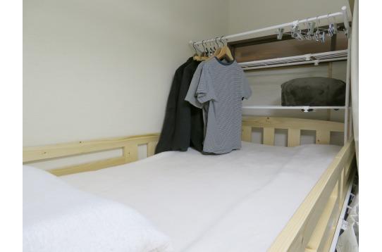 ベッドない収納もついてます(一部ベッドのみ)