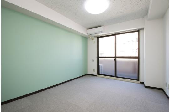 個室の様子。(418号室)