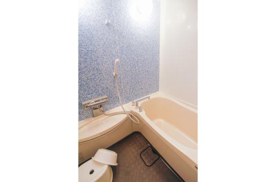バスルームもあるのでゆっくりできます。